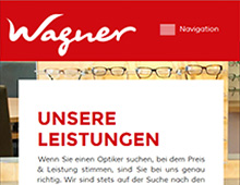 Optik Wagner – Website
